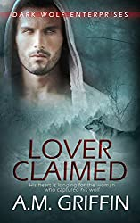 Lover Claimed: (A Wereshifter Romance Novel) (Dark Wolf Enterprises Book 2)