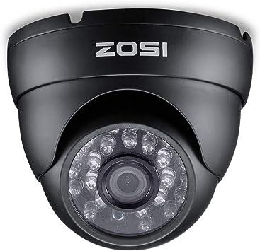 20M Visi/ón Nocturna Blanca ZOSI 1080P C/ámara de Vigilancia TVI//CVI//AHD//CVBS 4-en-1 CCTV C/ámara de Seguridad