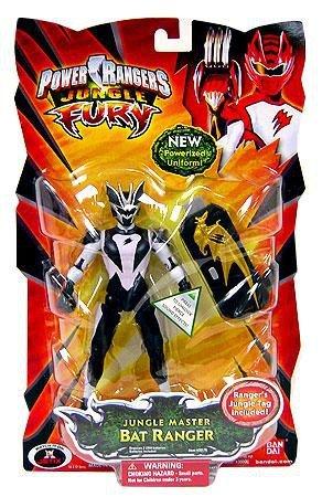 (Power Rangers Jungle Fury Action Figure Jungle Master Bat Ranger)