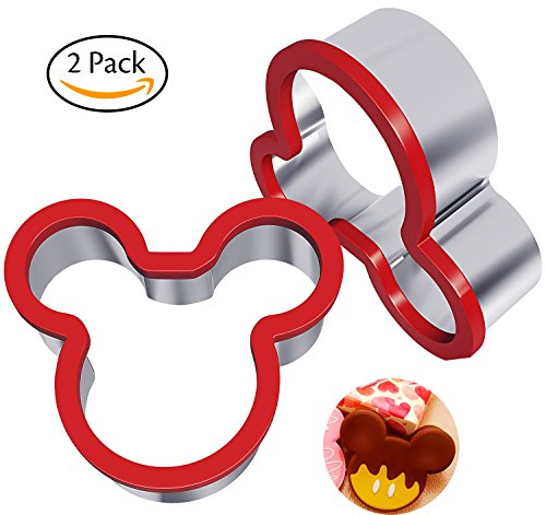 Mickey mouse cookie cutter 4 inch