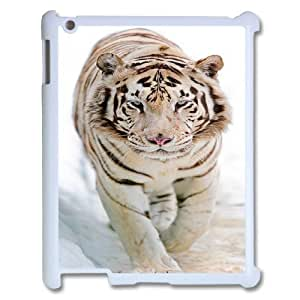High quality tiger Pattern Hard Case Cover for For iPad 2,3,4 Case color4