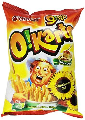(Orion O!karto Potato Chips - Italian Gratin Flavor 4.06 Oz (Pack of 2))