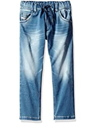 Diesel Boys' Krooley Ne-J Regular Slim Fit Denim Jean
