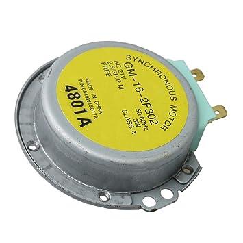 Yibuy Metal 6549W1S017A - Motor giratorio para microondas (sustituye a LRM1260SW LMA1180ST)