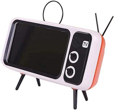 Classic Bluetooth Speaker Retro Mini TV Soporte de Audio Tarjeta ...