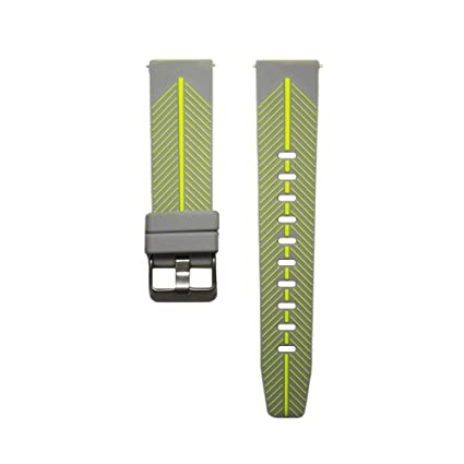 Awinner Watch Band for Pebble Time,Strap Replacement Accessories with Metal Clasps Watch Strap/Wristband Siliconed Replace with Pebble Time Bands ...