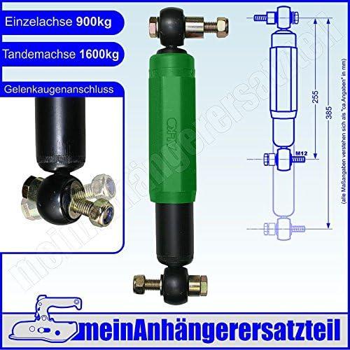 AL-KO 244084 Achssto/ßd/ämpfer Anh/ängersto/ßd/ämpfer Octagon PLUS gr/ün 900kg