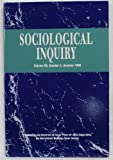 img - for Sociological Inquiry Magazine - Summer 1998 Vol. 68 No. 3 book / textbook / text book