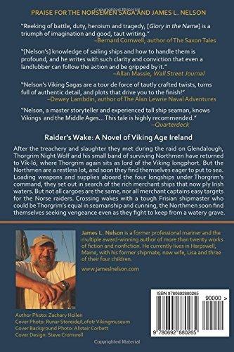 Raiders wake a novel of viking age ireland the norsemen saga raiders wake a novel of viking age ireland the norsemen saga volume 6 james l nelson 9780692880265 amazon books fandeluxe Images