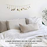 Moon Decor Wall Decorations, Handmade Hammered