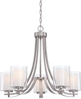 Minka Lavery Chandelier Pendant Lighting 4105 84 Parsons Studio Dining Room 5 Light