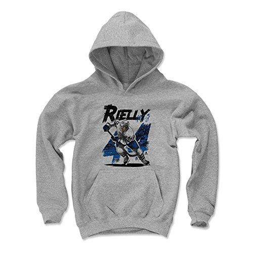 500 LEVEL Morgan Rielly Toronto Maple Leafs Youth Sweatshirt (Kids Large, Gray) - Morgan Rielly Comic B