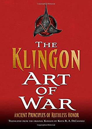 book cover of Klingon Art of War