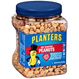 #8: Planters Peanuts, Dry Roasted & Salted, 34.5 Ounce Jar