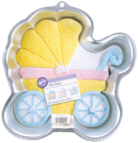 Wilton Baby Buggy Pan -