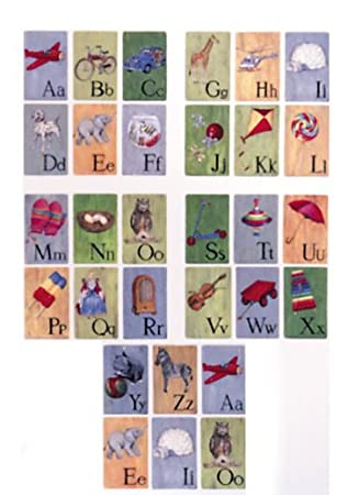 ABC All Alphabet Wall Decals Appliques