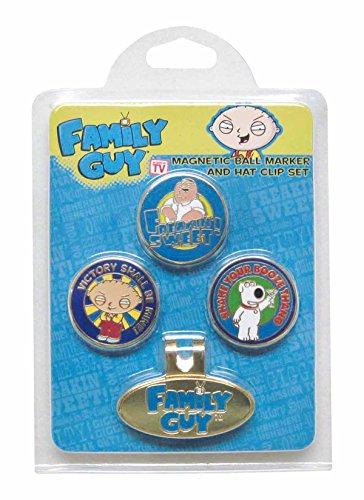 Family Guy Ball Mark Hat Clip Set