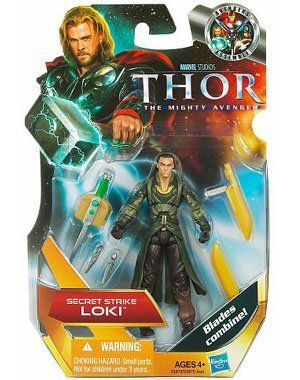 Thor Movie 4 Inch Series 1 Action Action Action Figure Secret Strike Loki by Thor cfb9dc