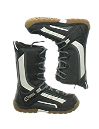 Morrow Slick Snowboard Boots Black 3.0D(M) US Boys