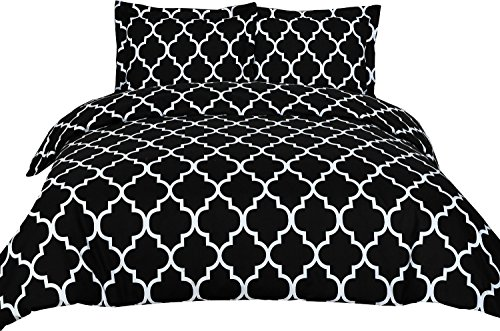 Best Deals! Printed Duvet-Cover-Set - Brushed Velvety Microfiber - Luxurious, Comfortable, Breathabl...