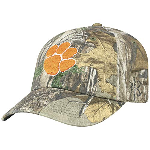 02a5dd8f938 Top of the World NCAA Clemson Tigers Men s Real Tree Camo Adjustable Icon  ...