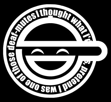 Laughing Man Ghost In The Shell Vinyl Decal Sticker Small Or Large Sizes