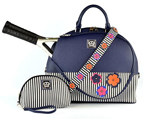 Court Couture Ella Midnight Tennis Bag