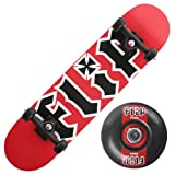 : Flip (CPX4006) Team HKD Series 7.5-Inch Full Size Complete Skateboard (Red)