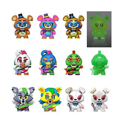 Funko Mystery Mini's: Five Nights at Freddy's, Security Breach - One Mystery Figure, Multicolour, 3 inches