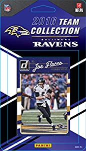 Baltimore Ravens 2016 Donruss Factory Sealed Team Set with Ray Lewis, Joe Flacco, Steve Smith, Terrell Suggs, Rookie Cards plus