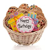 Happy Birthday Cookie Gift Basket - 24 PC.