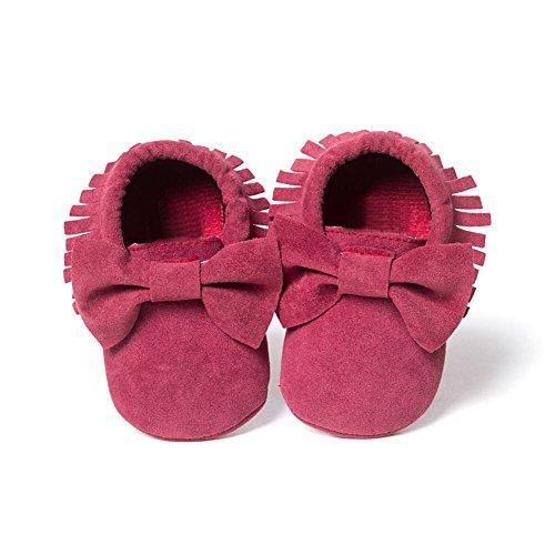 ESHOO bebé infantil unisex suave Sole Cuna zapatos de bebé Zapatillas zapatos de bebé E Talla:12-18 meses F