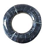 BIG-DEAL Garden Tool,_100m 3/8 Inch Inner Diameter 5.5mm Outter Diameter 9.52mm High Pressure Nylon Tube Pipe for Gareden Mist Cooling System - ( Diameter:3/8''; Lengh:100m )