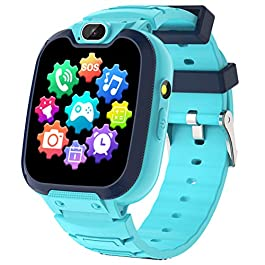 Kids Smart Watch for Boys Girls-Kids Phone Smartwatch with Calls 14 Games S0S Camera Video Music Player Clock Calculator…
