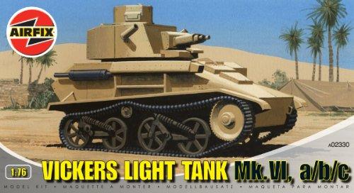 Airfix - A02330 - Construction et Maquettes - Bâtiment - Vickers Light Tank