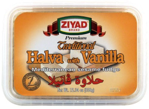 Ziyad Halva with Vanilla, 12.34-Ounce (Pack of 6) by Ziyad