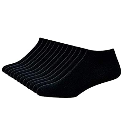 Winsummer 10 Pack Women's Comfort Low Cut Sock Men No Show Cotton Socks Sport Casual Casual Ankle Socks: Clothing