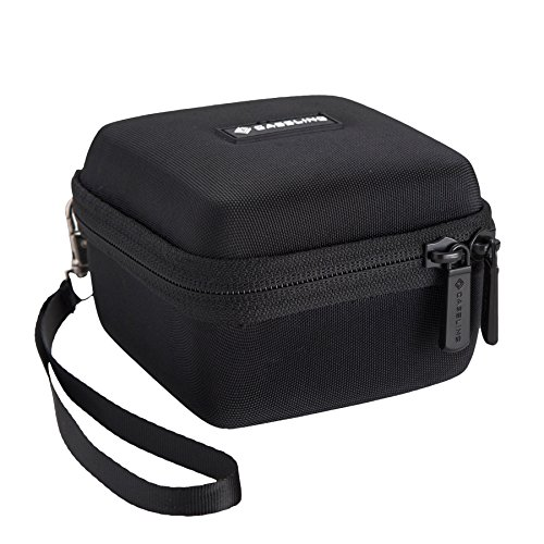 Caseling Hard Case for Omaker M4 Wireless Portable Bluetooth Speakers. – Mesh Pocket for the Cables.
