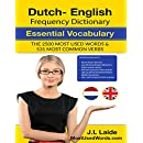 Dutch English Frequency Dictionary - Essential Vocabulary: 2.500 Most Used Words & 531 Most Common Verbs