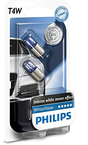 12 opinioni per Philips WhiteVision Effetto Xenon T4W lampada auto 12929NBVB2, blister doppio