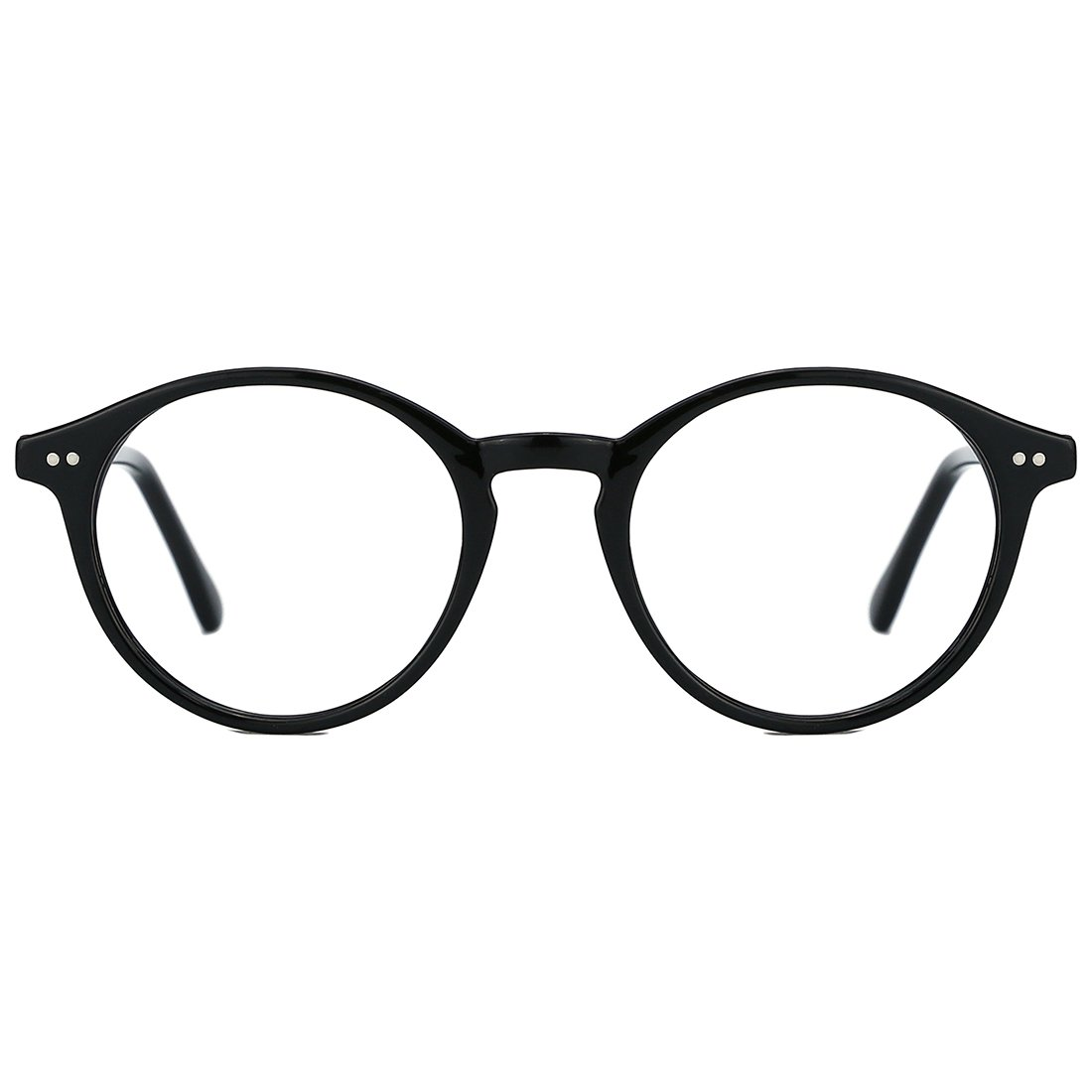 8d40ccb736 Amazon.com  TIJN Vintage Women Thick Round Rim Non-prescription Glasses  Eyeglasses Clear Lens  Clothing