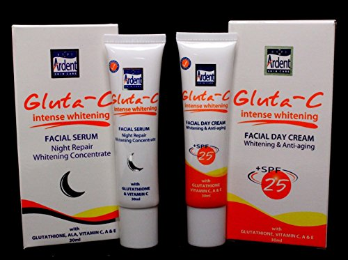 Ardent Gluta-C Intense Whitening Facial Day Cream and Fac...