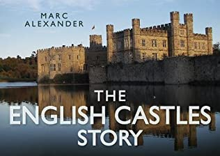 book cover of The English Castles Story