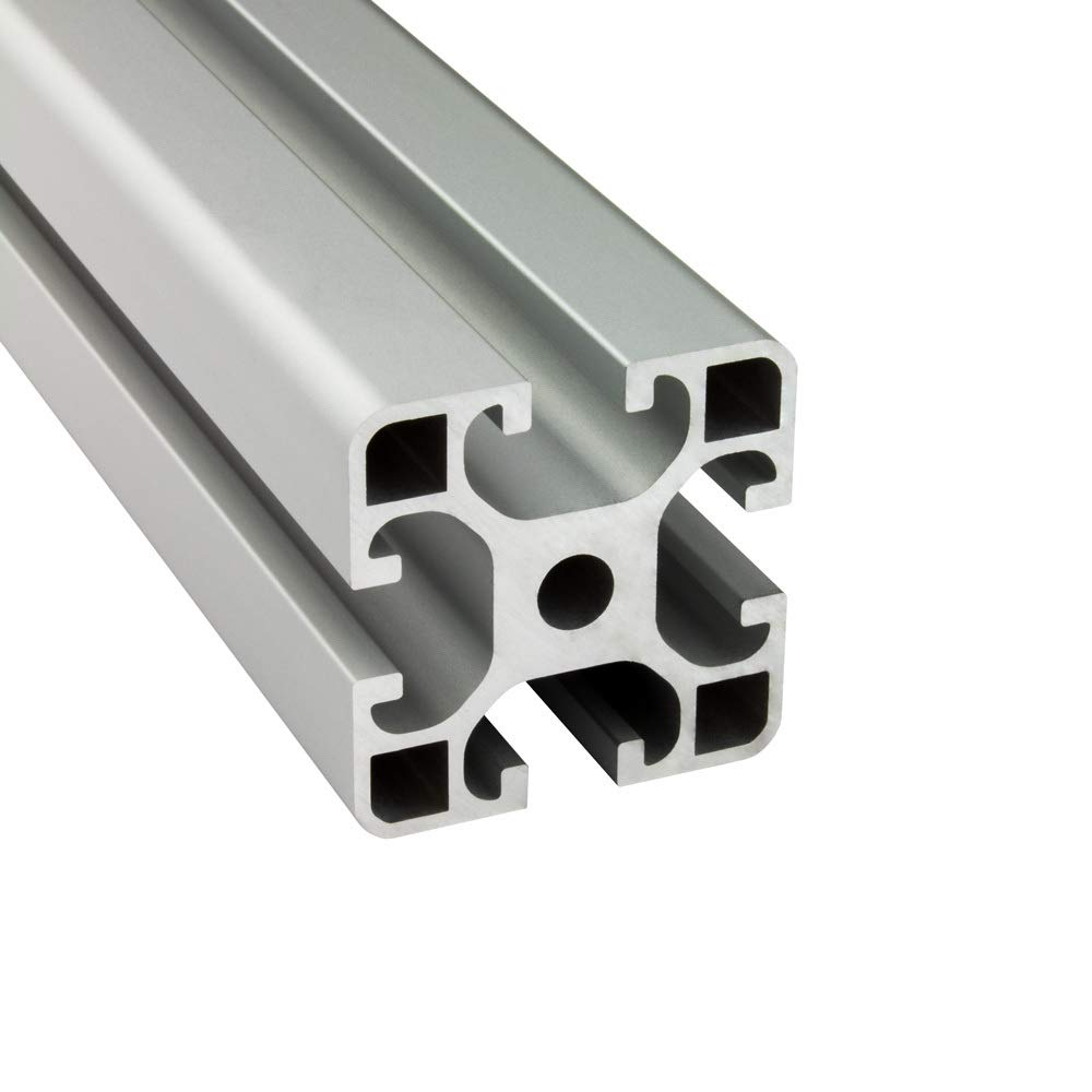 Konstruktionsprofil Nut Montage- Alu Profil 12 Stück 40x40mm light 2m System-