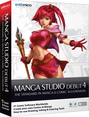 Manga Studio Debut 4 (Win/Mac)