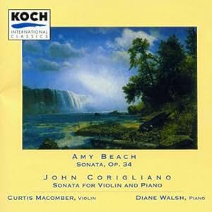 Beach: Violin Sonata, Op. 34 / Corigliano: Violin Sonata