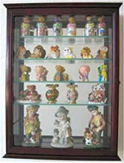 Amazoncom Collectible Figurine Display Case Wall Curio Cabinet - Display shelves collectibles wall shelves for collectibles display