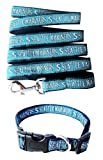 Seattle Mariners Nylon Collar and Matching Leash for Pets (MLB Official by Pets First) Size Large