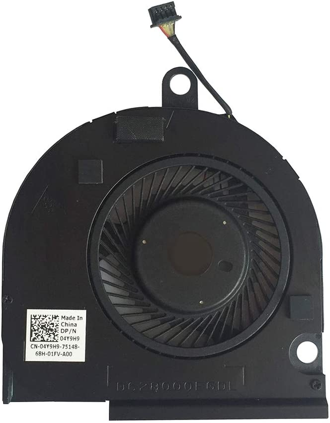 CPU Cooling Fan Cooler for Dell Latitude E5550 Seires Laptop DP/N: 04Y9H9 4-pin
