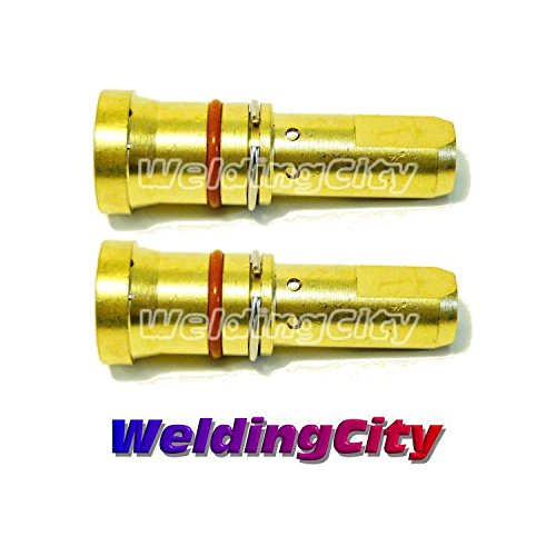 WeldingCity 2-pk Gas Diffusers 4335 for 200-300A Bernard MIG Welding Guns